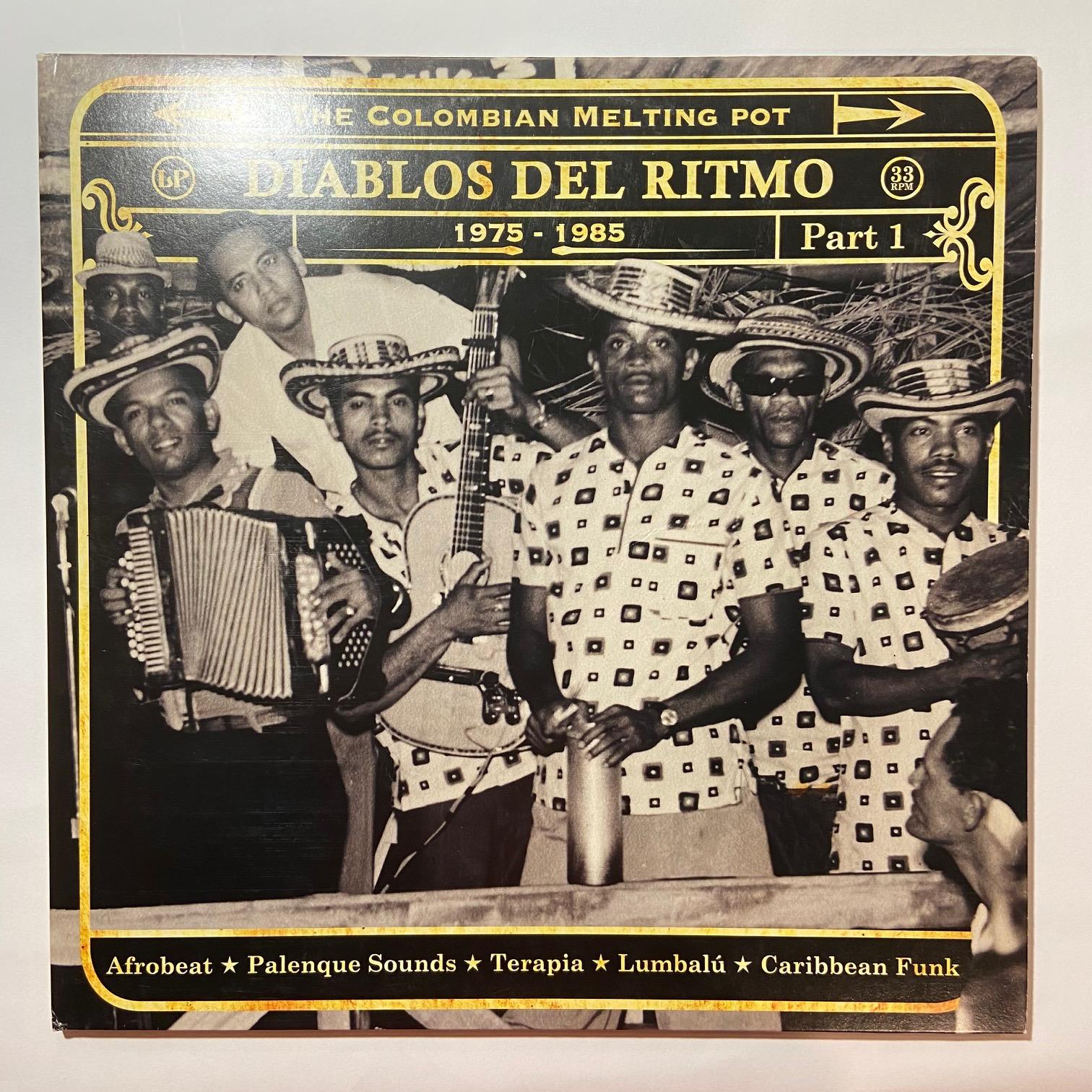 VARIOUS - Diablos Del Ritmo Part 1 - LP x 2