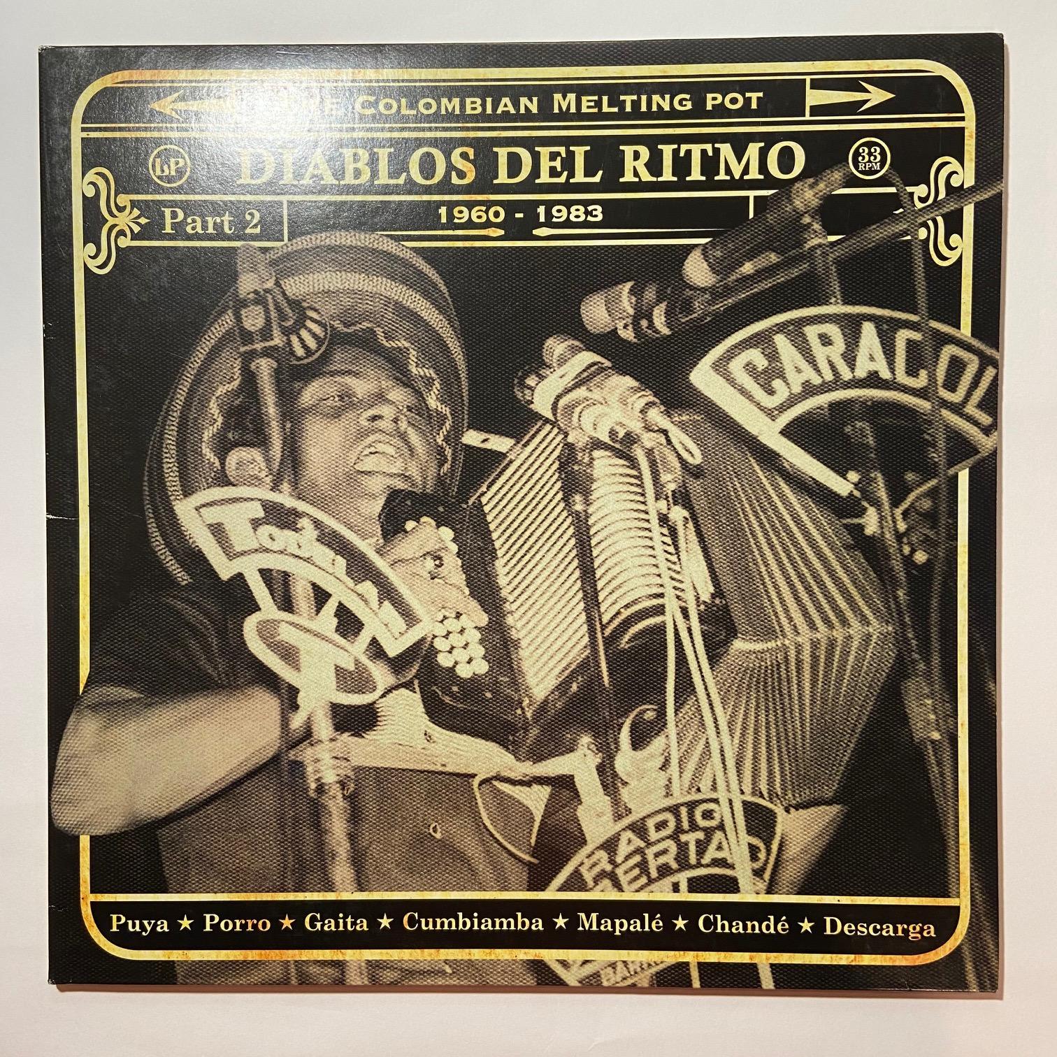 VARIOUS - Diablos Del Ritmo Part 2 - LP x 2