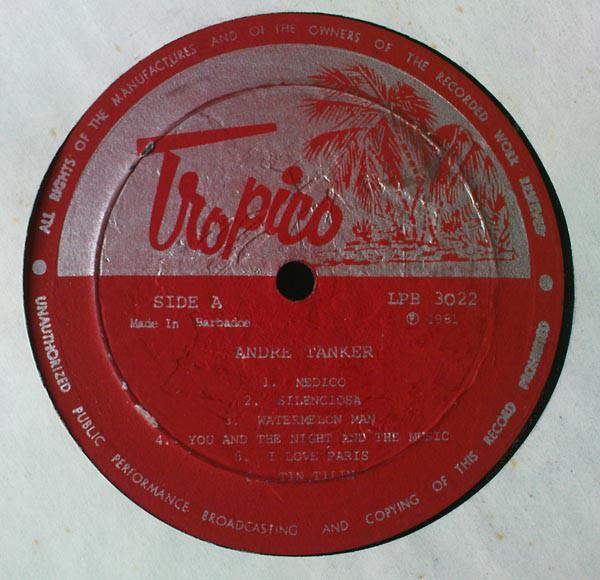 ANDRE TANKER - Same - LP