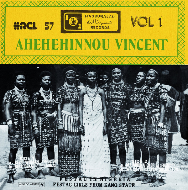 Ahehehinnou Vincent Vol.1