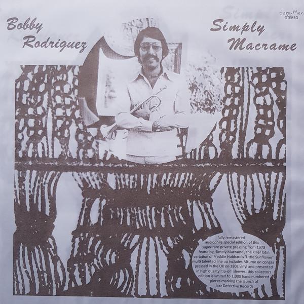 BOBBY RODRIGUEZ - Simply macrame - LP