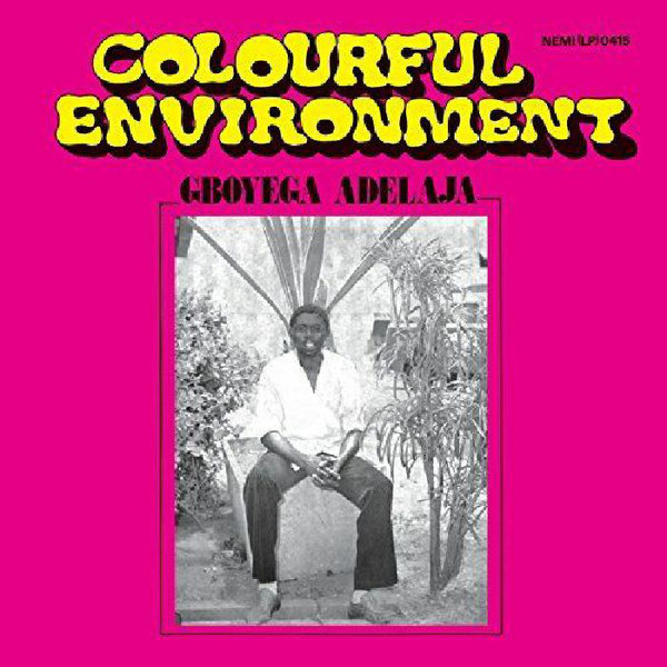 GBOYEGA ADELAJA - Colourful environment - LP