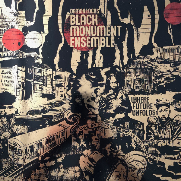 DAMON LOCKS BLACK MONUMENT ENSEMBLE - Where future unfolds - LP