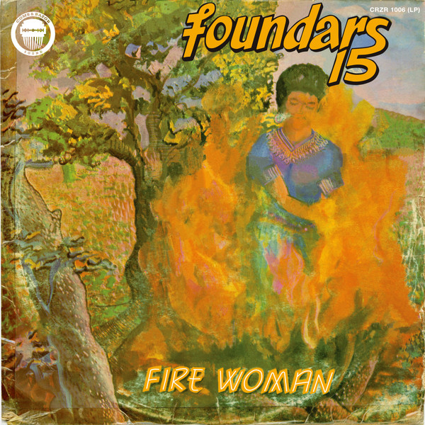 FOUNDARS 15 - Fire woman - LP