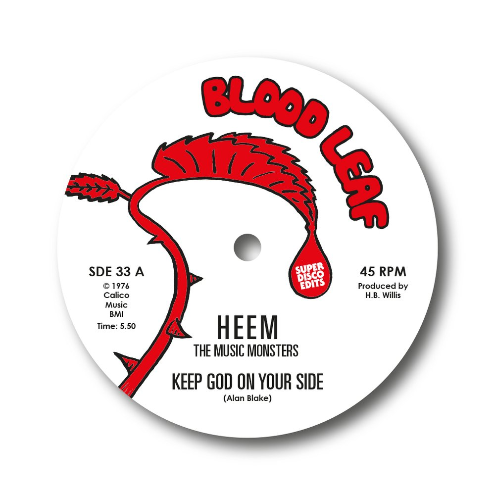 HEEM THE MUSIC MONSTERS - Keep god on your side - 12 inch 45 rpm