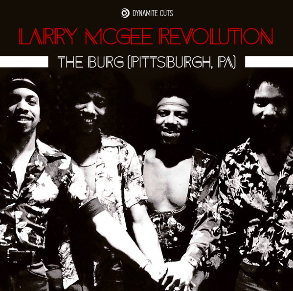LARRY MCGEE REVOLUTION - The burg - 7inch (SP)