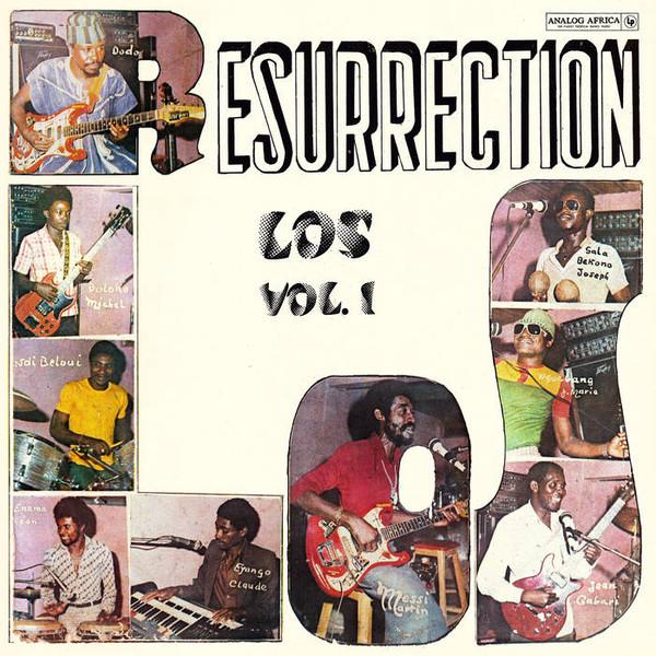 LOS CAMAROES - Resurrection - LP