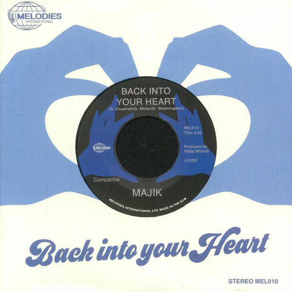MAJIK - Back into your heart - 7inch (SP)