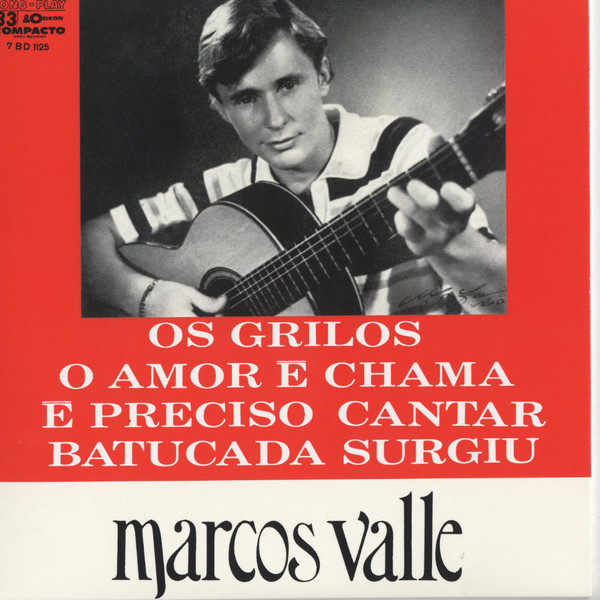 MARCOS VALLE - Os grilos EP - 7inch (SP)