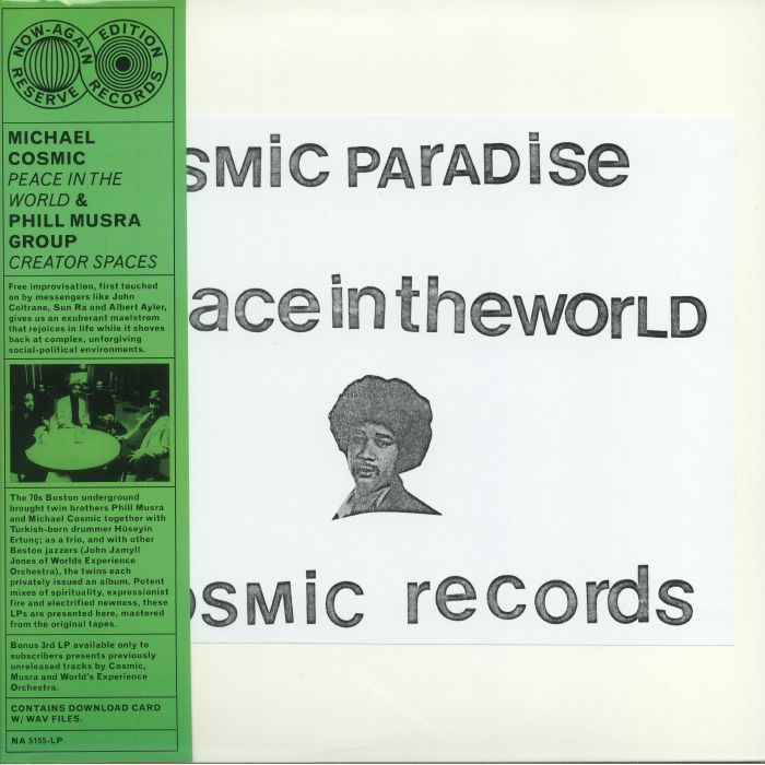 MICHAEL COSMIC / PHIL MUSRA - Peace in the world / Creaturespaces - LP x 2