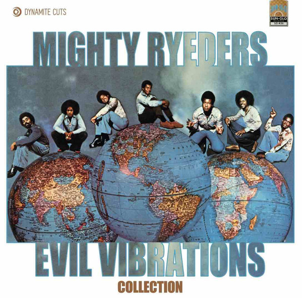 MIGHTY RYEDERS - Evil vibrations - 7inch (SP)