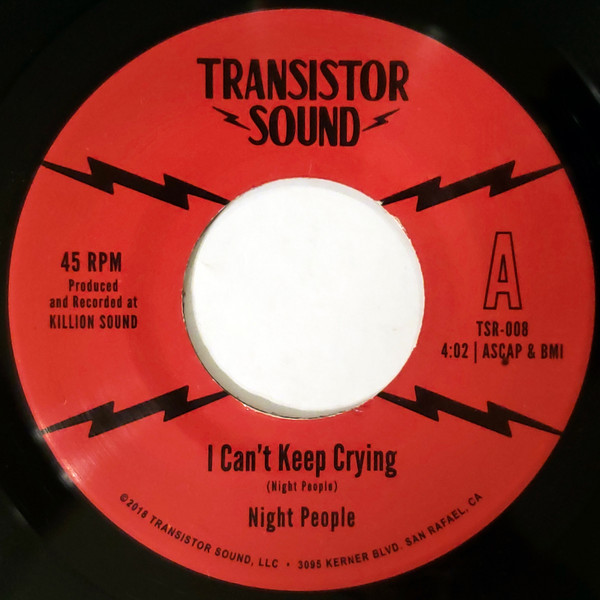 NIGHT PEOPLE - I can't keep crying - 7inch (SP)