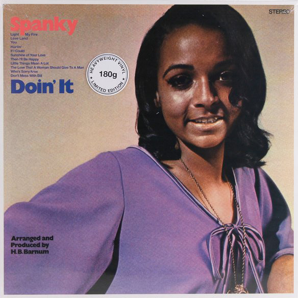 SPANKY WILSON - Doin' It - LP