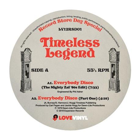 TIMELESS LEGEND - Everybody Disco - 12 inch 45 rpm