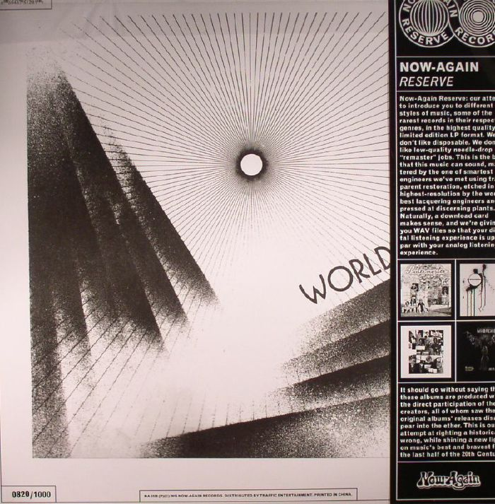 THE WORLD'S EXPERIENCE ORCHESTRA - As time flows on - LP