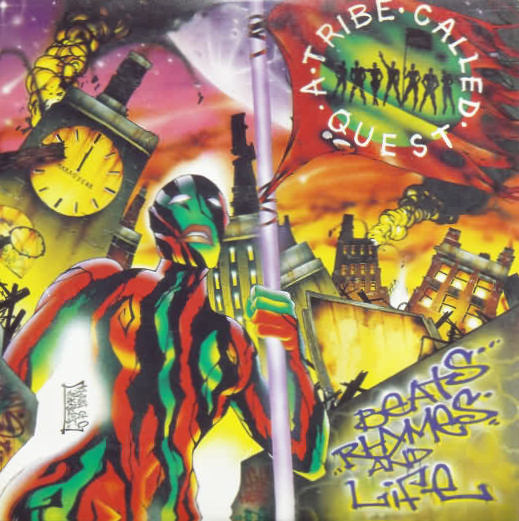 A TRIBE CALLED QUEST - Stressed out - CD single