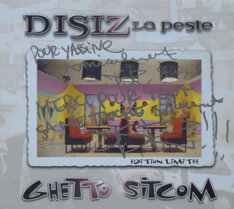 DISIZ LA PESTE - Ghetto sitcom - CD Maxi