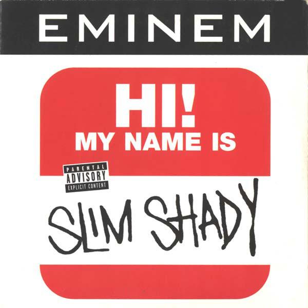 EMINEM - Hi, my name is Slim Shady - CD single