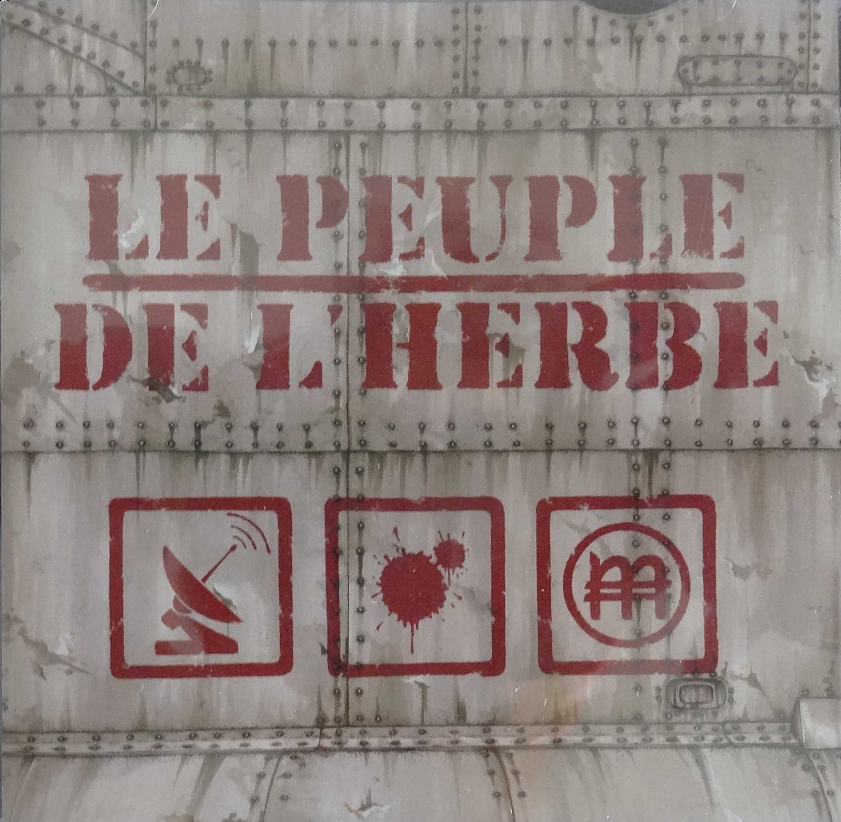LE PEUPLE DE L'HERBE - Radio Blood Money - CD