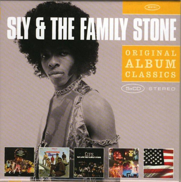 SLY & THE FAMILY STONE - Original Album Classics - CD x 5